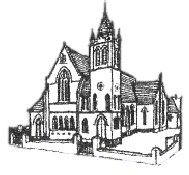 Logo of Whitehall Road Methodist Church.